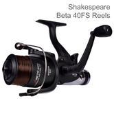 Shakespeare Beta 30 RD Fixed Spool Spinning Reel | Lightweight | For Fishing | Black