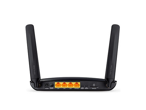 TP-Link TL-MR6400 300Mbps SIM Slot Unlocked Wireless N 4G LTE Cable Router | Black Thumbnail 3