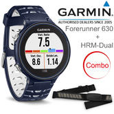 Garmin Forerunner 630 GPS Running Connected Smartwatch + HRM-Dual | Colour Touchscreen | Blue