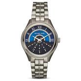 Michael Kors Lauryn Ladies Watch MK3720 | Blue Sunray Dial | Stainless Steel Strap