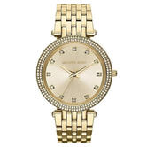 Michael Kors Darci Ladies Watch MK3216 | Crystal Pave Bezel | Gold Tone Stainless