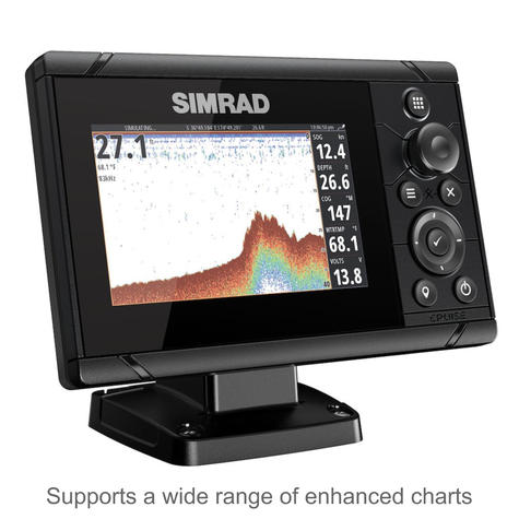 "Simrad Cruise 5 | 5"" Marine Plotter/Sounder with ROW Base Chart & 83/200 Transducer Thumbnail 4"