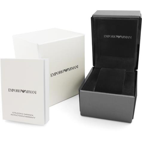 Emporio Armani Gioia Ladies Watch AR11146 | MOP Dial | Dual Tone Stainless Strap Thumbnail 4