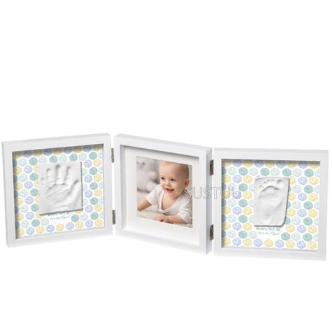 Baby Art My Baby Style Double Print Frame Mr & Mrs Clynk | Giftware For Babyshower, Birthdays & Christening Thumbnail 1