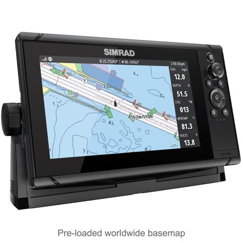 "Simrad Cruise 9 | 9"" Marine Plotter/Sounder with Base Chart & 83/200 Transducer Thumbnail 6"
