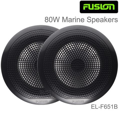 "Fusion EL-F651B 6.5"" 80W EL Series Shallow Mount Marine Speakers | IP65 | Black | Pair Thumbnail 1"