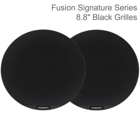 "Fusion SG-X10B Signature Series 10"" Marine Speakers Grille Only - Pair 