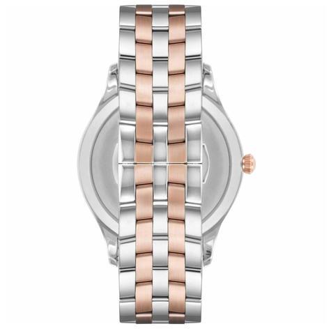 Emporio Armani Lambda Men's Watch AR11044 | Silver Dial | Dual Tone Stainless Strap Thumbnail 2