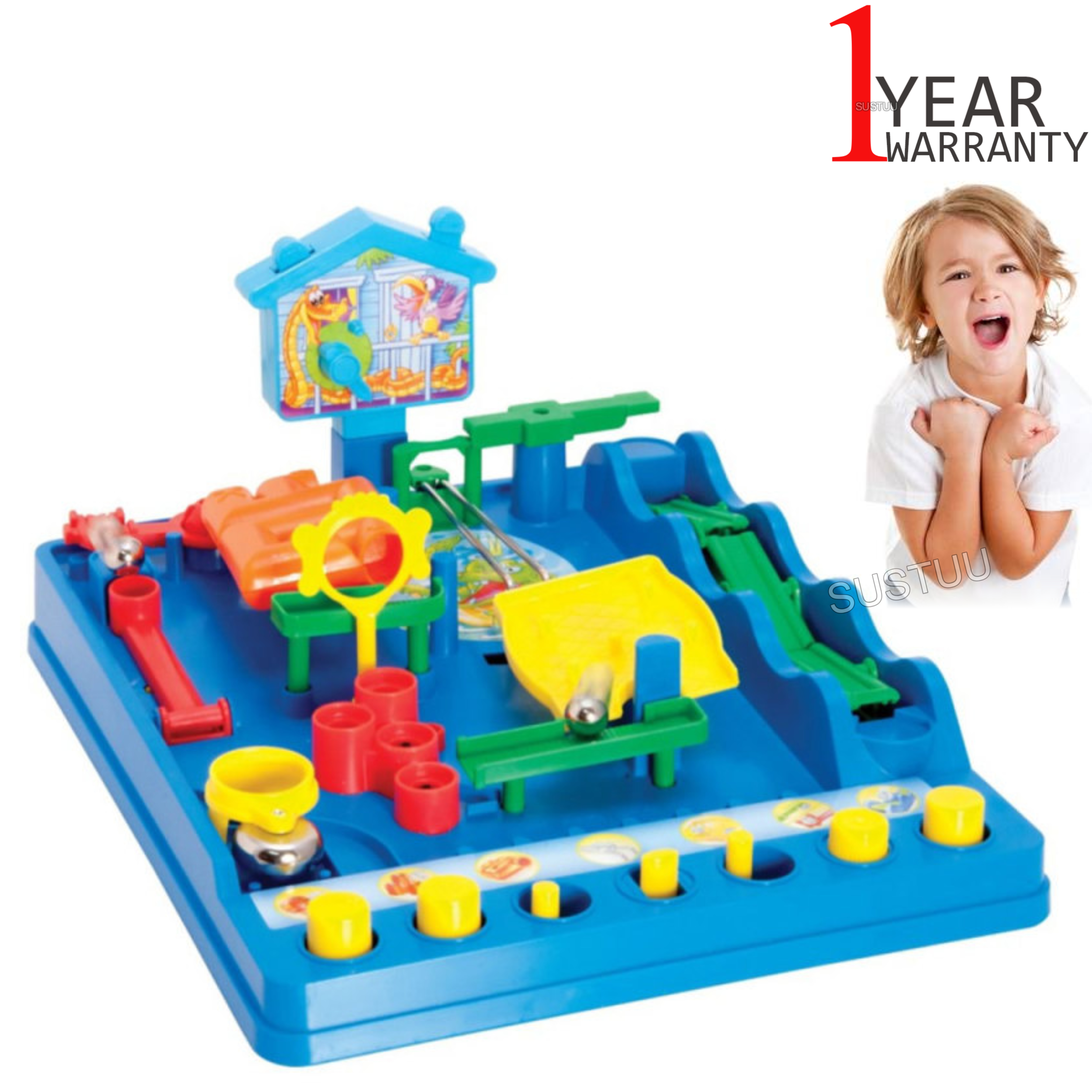 Tomy T7070 Scewball Marble Scramble Game | Classic Children's Fun Actvity | Age 5+