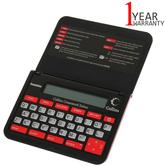 Franklin Collins Crossword pocket Solver | Thesaurus Spellchecker | CWM109 | Black | NEW