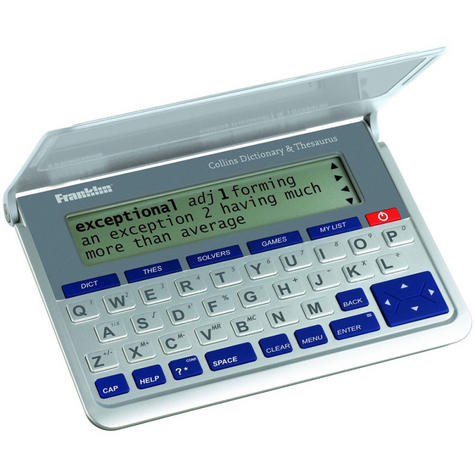 Franklin DMQ570 Electronic Collins English Dictonary|Thesaurus & Spell Checker| Thumbnail 1