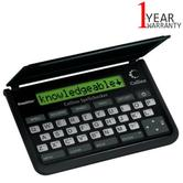 Franklin Collins Pocket Electronic Spell Checker | Crossword Solver | Black | SPQ109