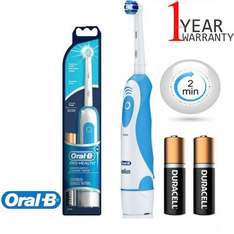 Braun Oral-B Pro Health Electric Toothbrush | Dental Care | Precision Clean + Timer Thumbnail 1