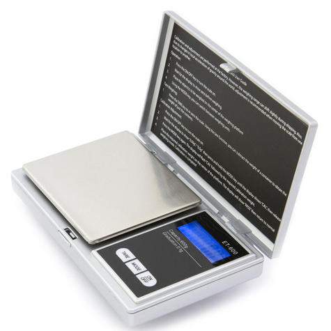 Kenex Professional Digital Portable Pocket Scale (Assorted) | LCD Display | Auto Off Thumbnail 2