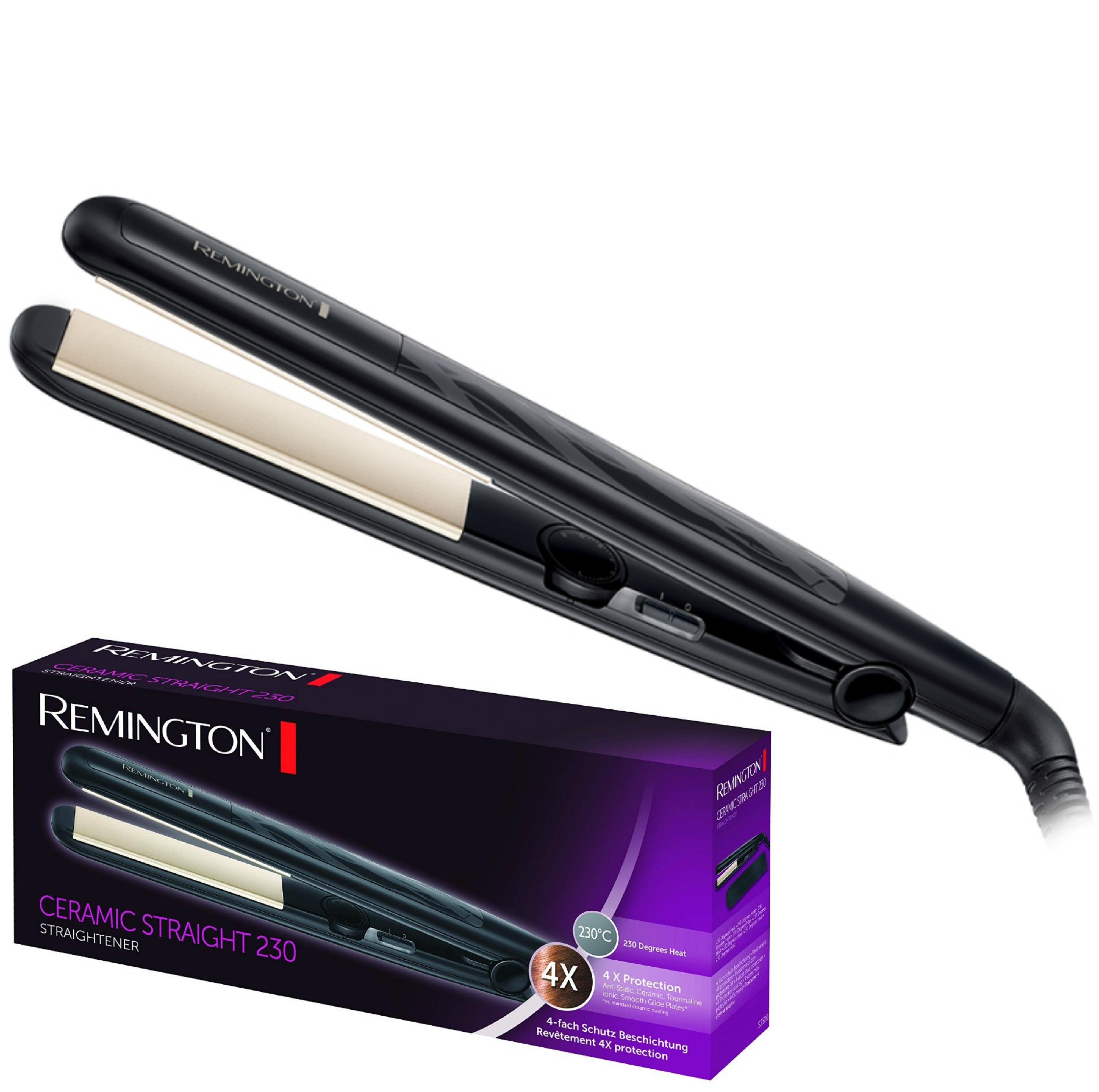 Remington S3500 Ceramic 110mm length 230 Degree Heat Hair Style Straightner