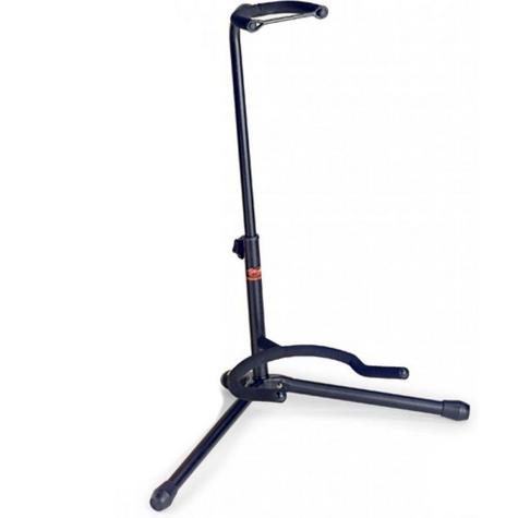 Stagg New SGA100BK Tripod Guitar Stand  With folding Legs & Safety Strip-Black Thumbnail 1