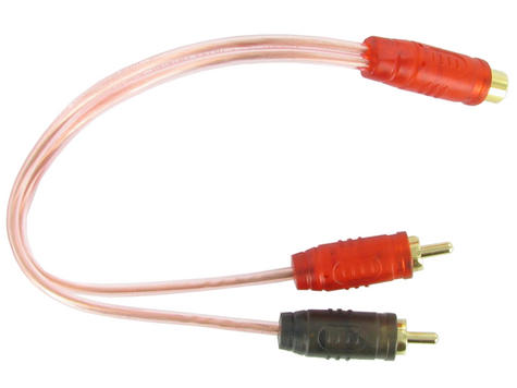 C2 RCA600-Y1 In Car Audio Cable | 2 m Lead | For Amplifier Equaliser | 1 YEAR WARRANTY Thumbnail 1