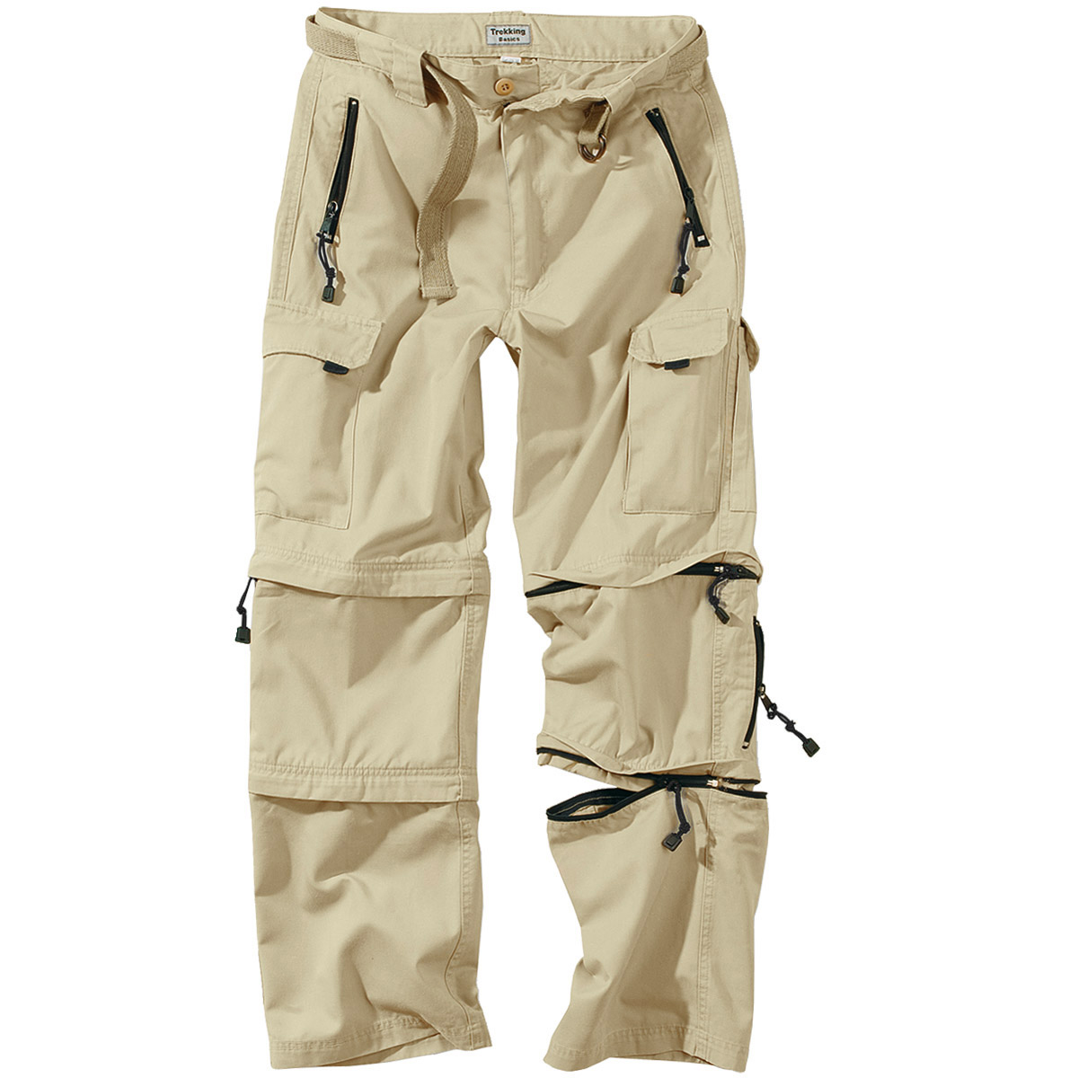 Khaki Pants White Shirt Brown Shoes