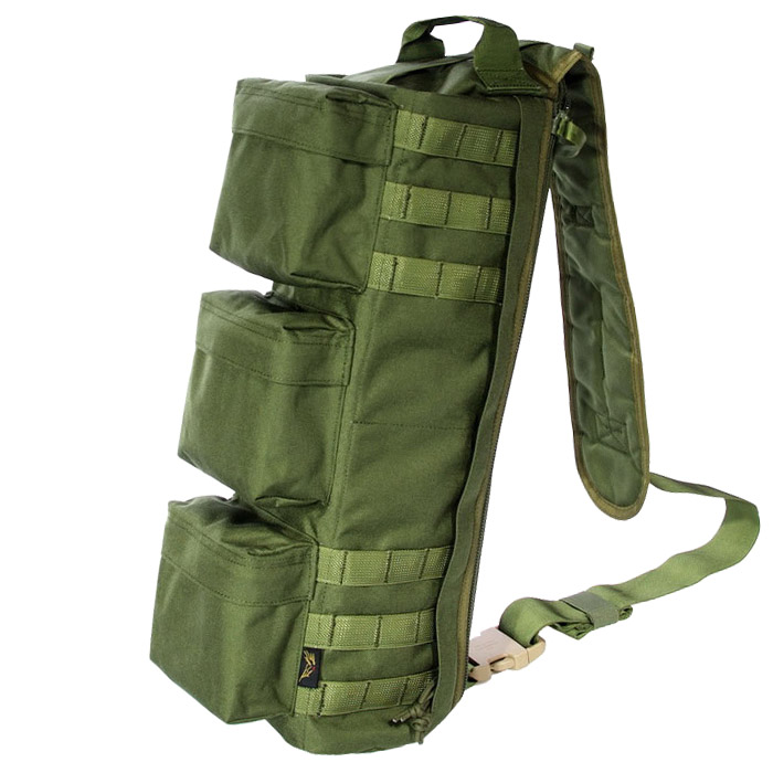 Airsoft SWAT Gear Molle Utility Waist Pouch Shoulder Bag Olive Drab OD