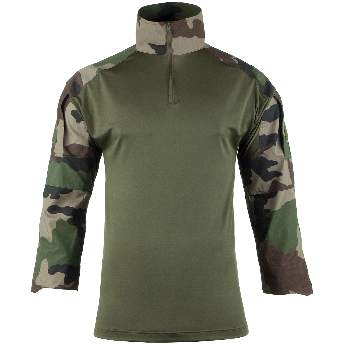 Guerrero-Combate-Militar-Hombres-Camisa-Codo-Cojines-Airsoft-Paintball-Frances-C