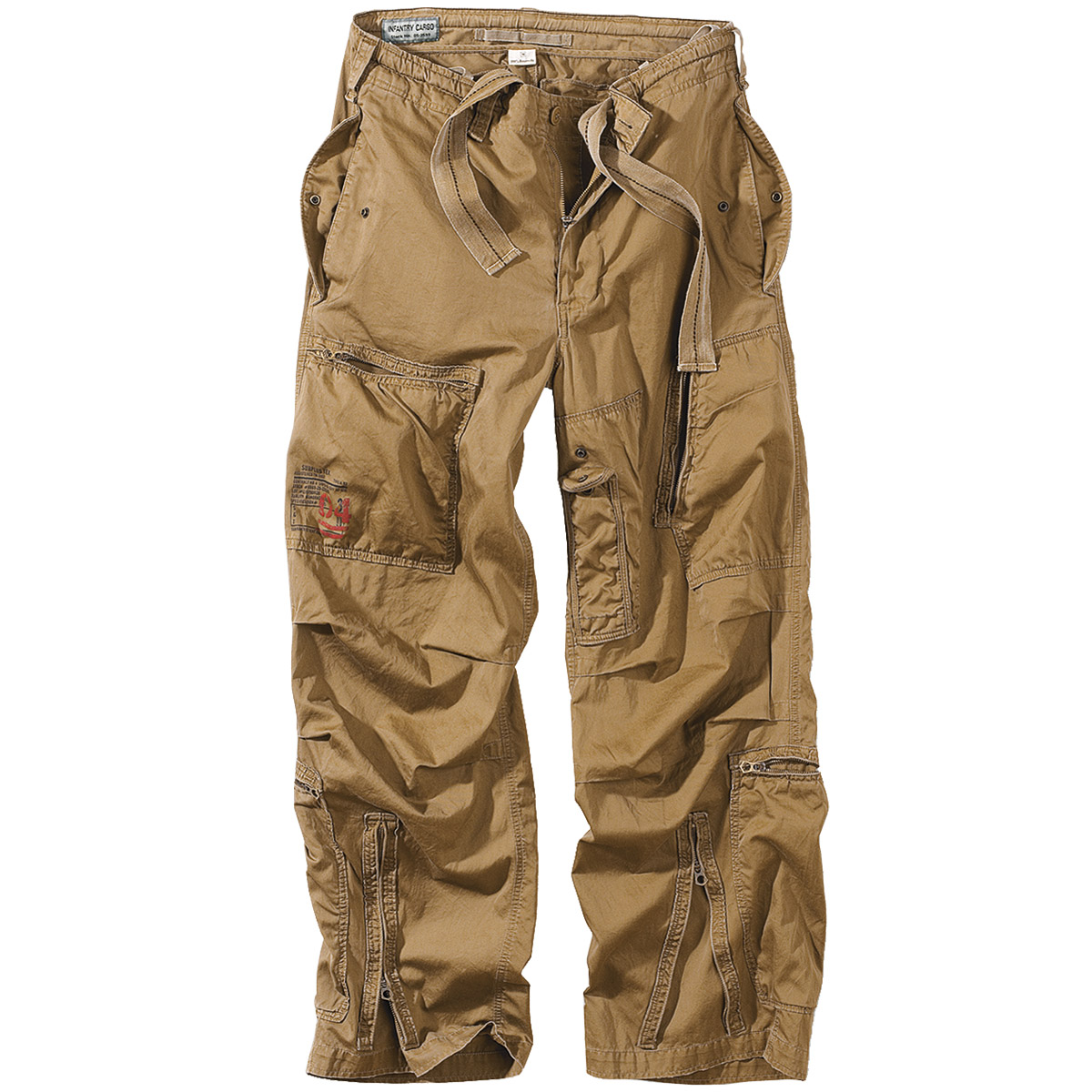 surplus infantry hose combat pants herren cargos baggy armee stil coyote s xxl ebay. Black Bedroom Furniture Sets. Home Design Ideas