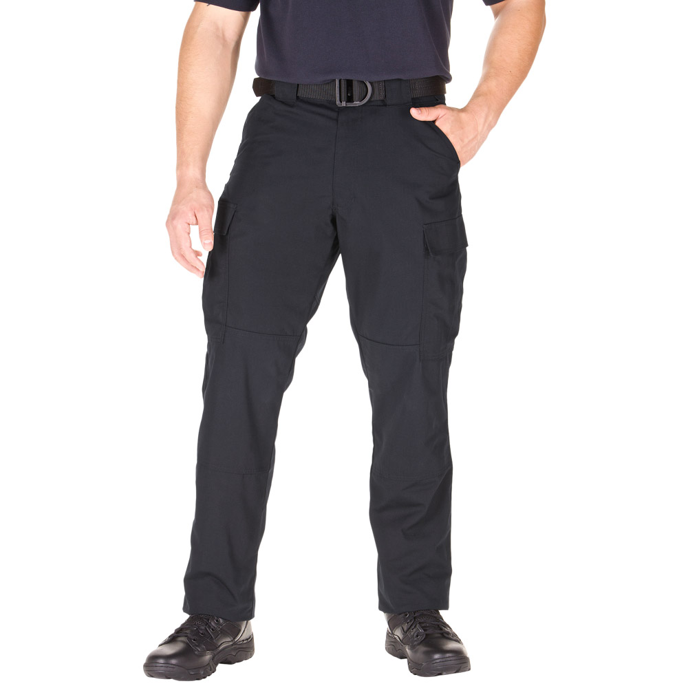 Black Shoes And Belt With Khaki Pants
