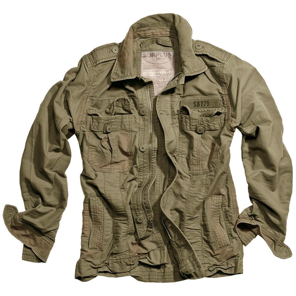 Surplus Heritage Vintage Jacke Giacca Uomo