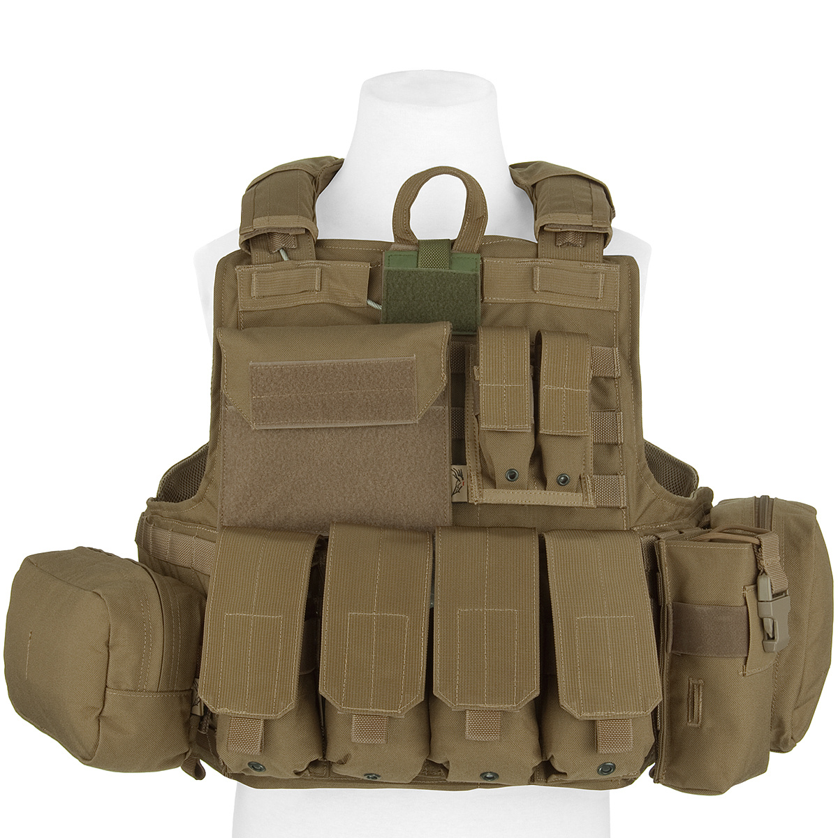 FLYYE ARMEESYSTEM FORCE FORCE FORCE RECON WESTE MOLLE + VOLLE BEUTEL SET AIRSOFT COYOTE BRAU aaa2d9