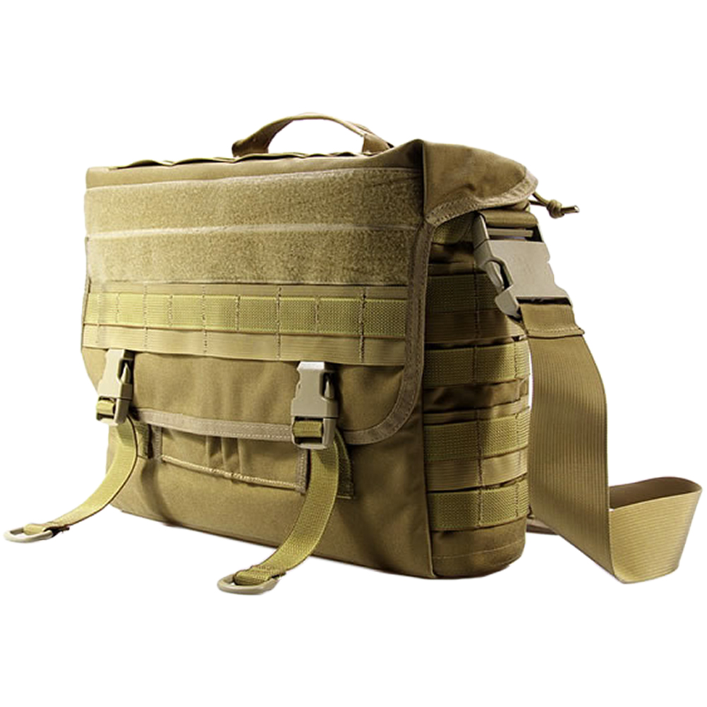 Details About Flyye Army Tactical Dispatch Bag Notebook Case 15 17 Laptop Molle Coyote