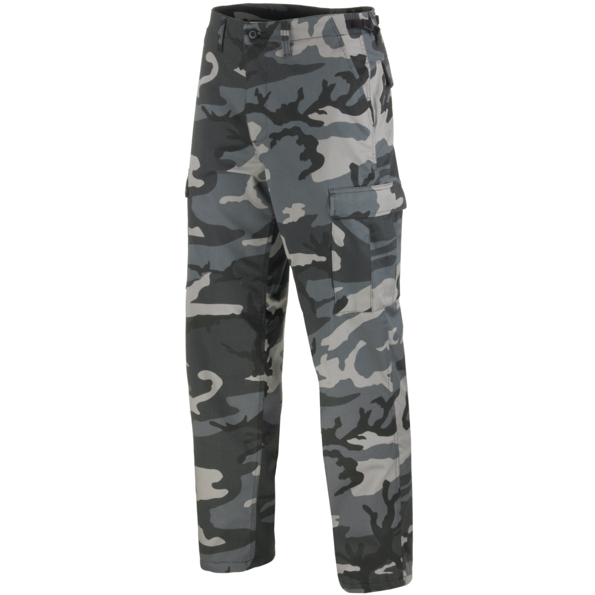All Sizes Tough Military Pants Mens DARK BLUE ARMY NAVY BDU COMBAT TROUSERS