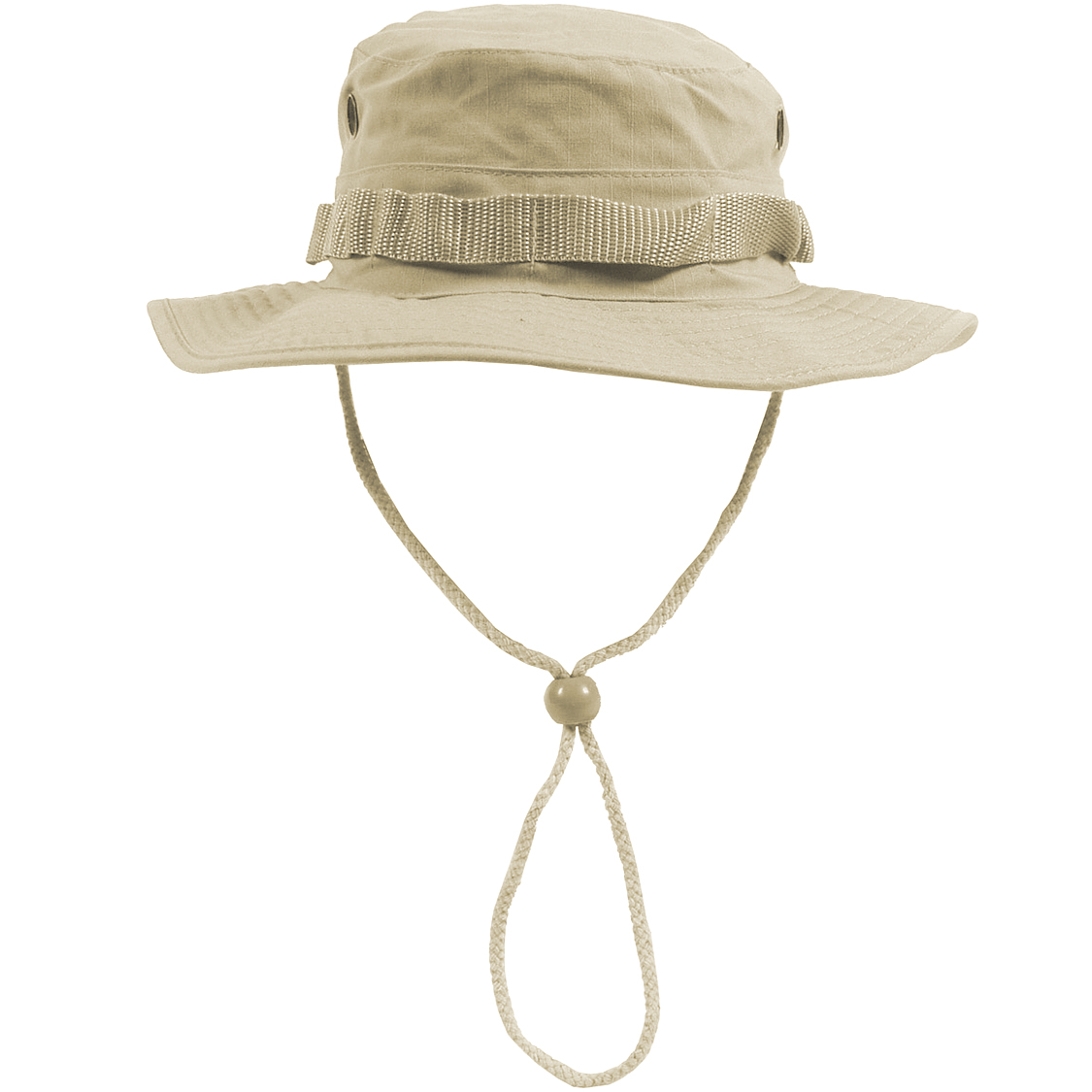 Sentinel ARMY COMBAT GI BOONIE HAT HIKING FISHING BUSH CAP 100% COTTON  RIPSTOP KHAKI S- 44188e709d3