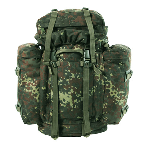 621e6932cecb Details about German Army Rucksack Military Mountain Bergen Patrol Pack  Backpack 80L Flecktarn