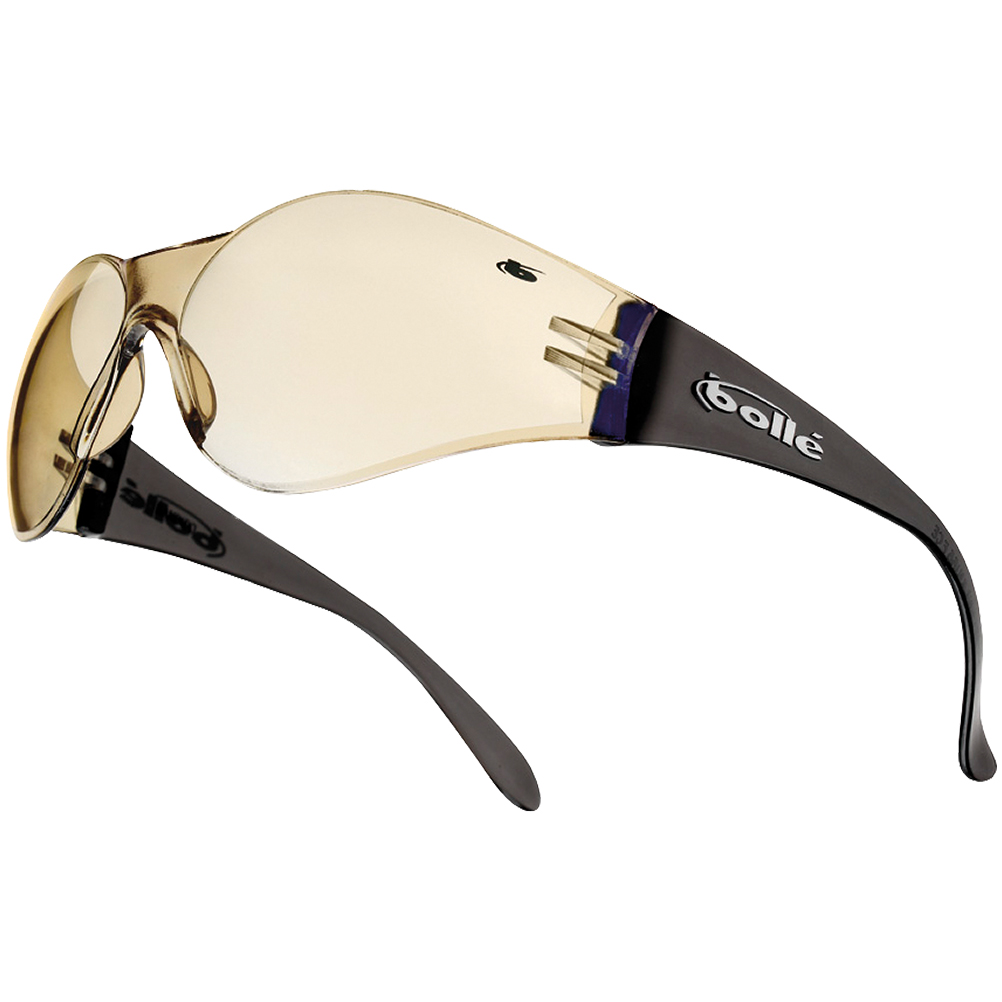 Bolle Bandido Safety Glasses Army Tactical Spectacles Eye Protection Brown Frame