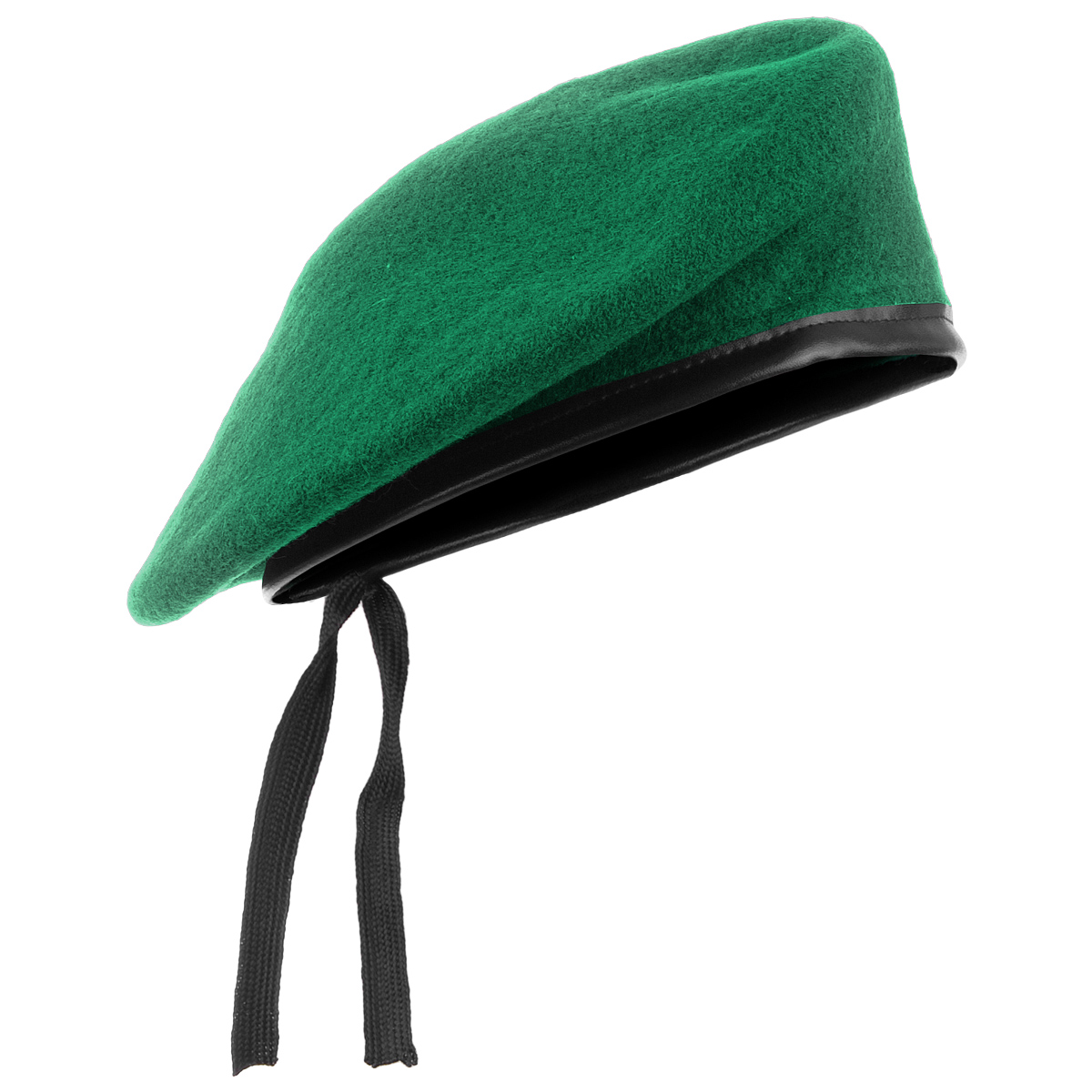 Green Wool Beret Cap New Military Style Hat