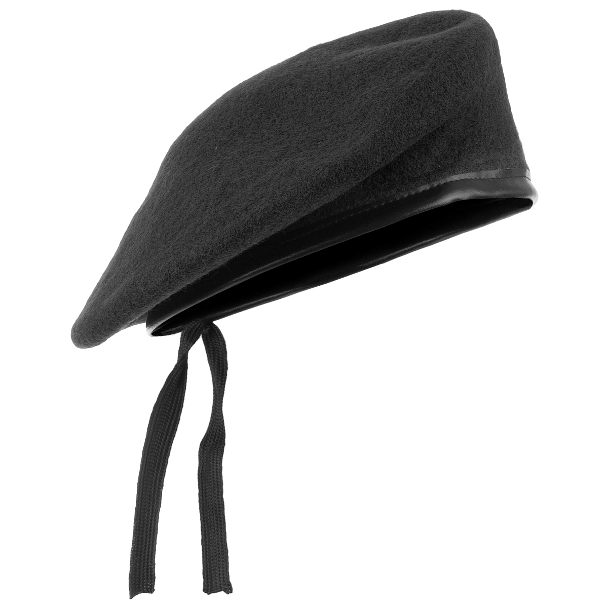 Sentinel Army Style Tactical Beret Classic Military Unisex Hat Mens Patrol  Cap Wool Black 9e45b844ee4