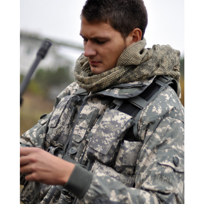 100cm x 100cm  or  100cm x 198cm. ARMY DPM CAMOUFLAGE SCRIM NET MILITARY SCARF