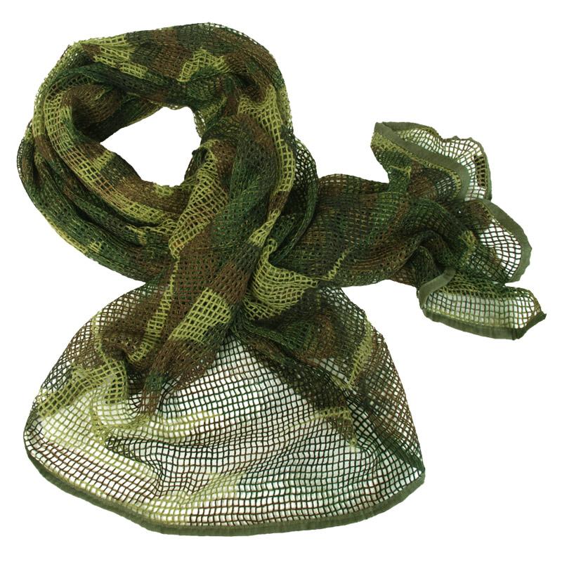 Military Scrim Net Tactical Scarf Combat Sorgo Army Patrol Netting