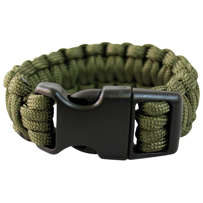 Tactical Army Paracord Wrist Band Bracelet Hiking