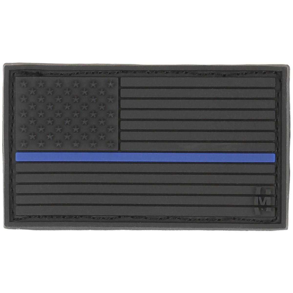 Sentinel Maxpedition Small Usa Flag Patch Pvc Emblem Badge Law Enforcemt  Thin Blue Line dbf7adfff7f