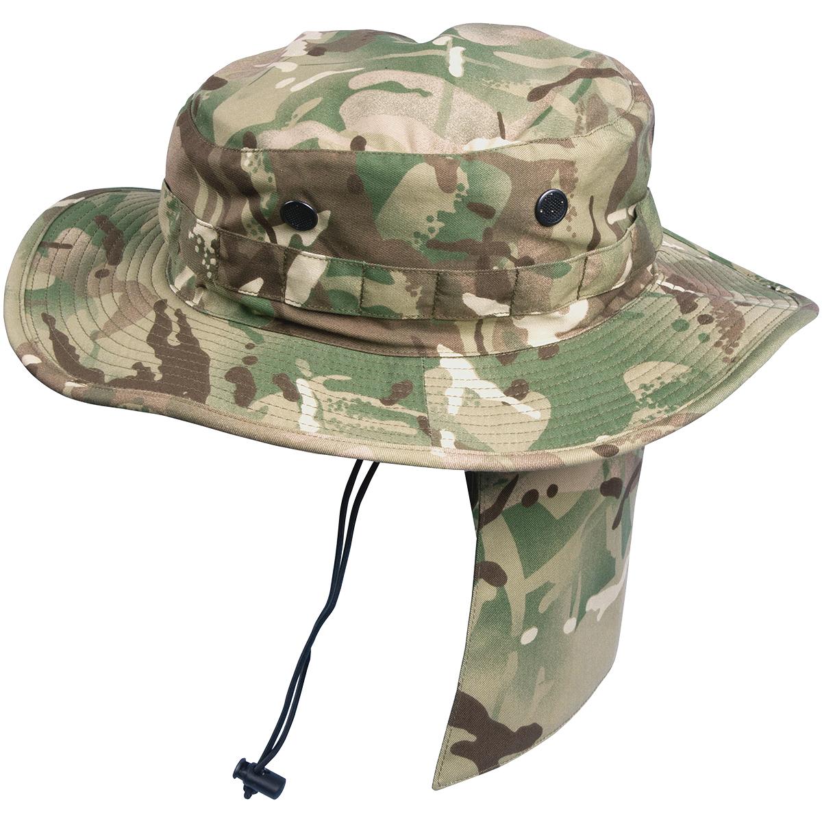 Sentinel HELIKON TACTICAL ARMY MILITARY GI BOONIE JUNGLE BUSH HAT HIKING  FISHING MTP CAMO fe7808d9c54