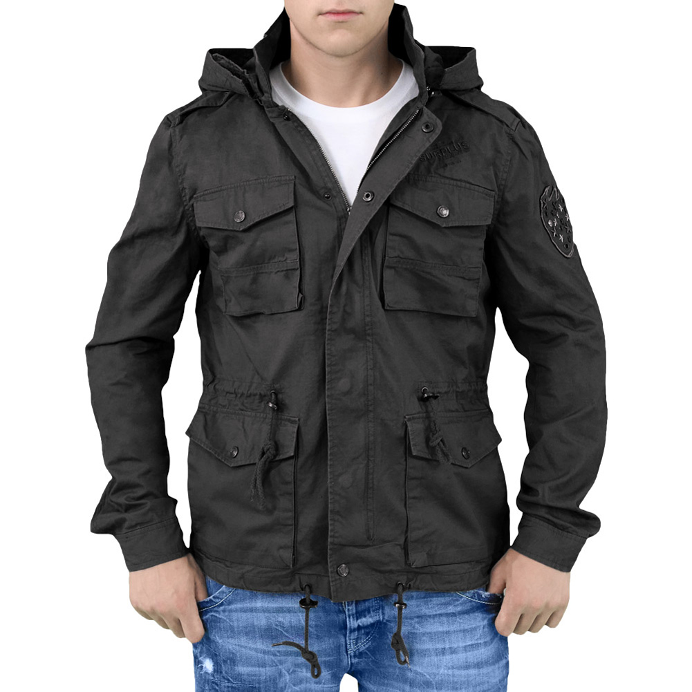 062cb73c5c1 Surplus Military Jacket Army Style Coat Mens Combat Parka with .
