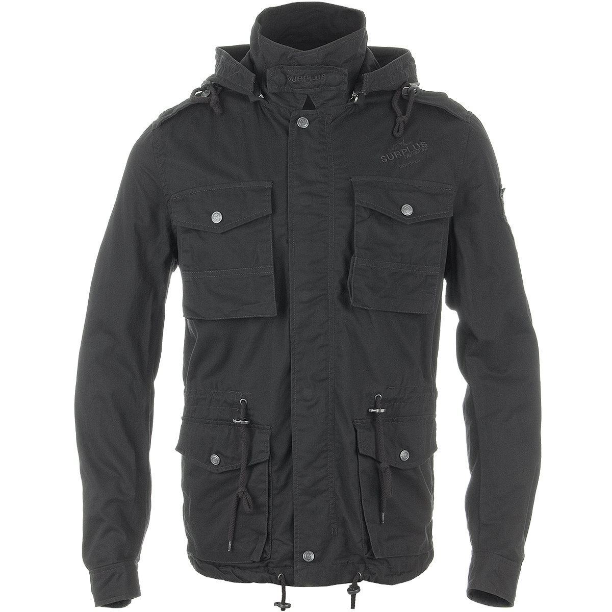 Mens Black Jacket With Hood | Jackets Review