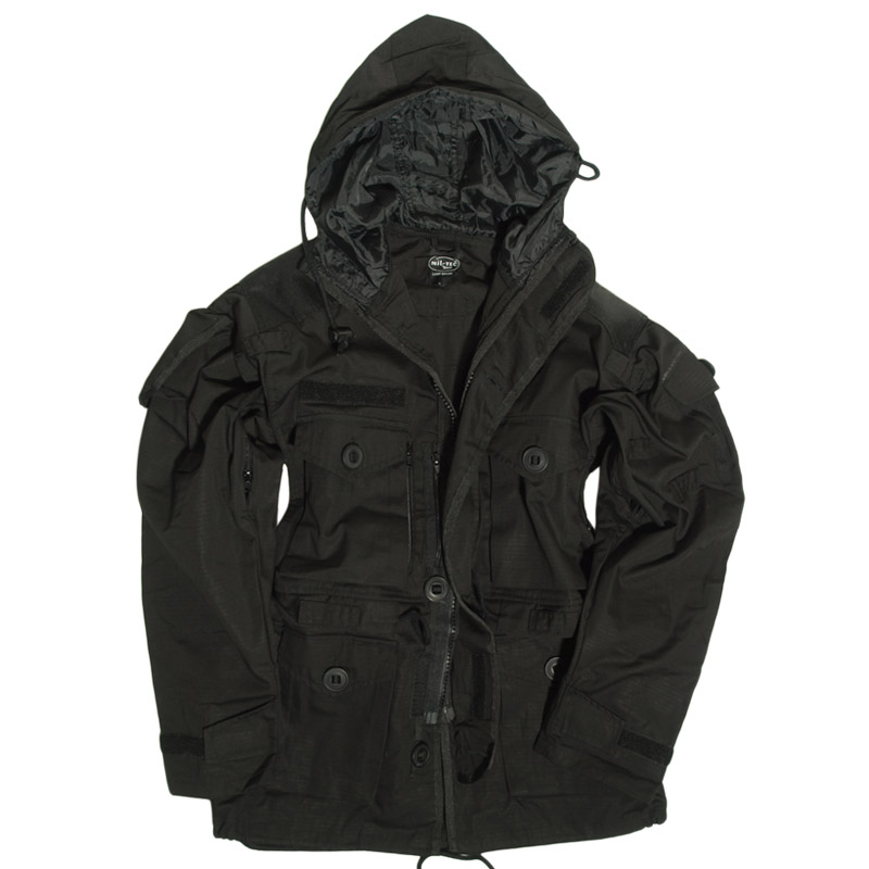 Black Brandit BW Parka is on sale now at the Military 1st tactical online store. We offer a huge assortment of military style coats and soft shells, and fast FREE shipping across the US.