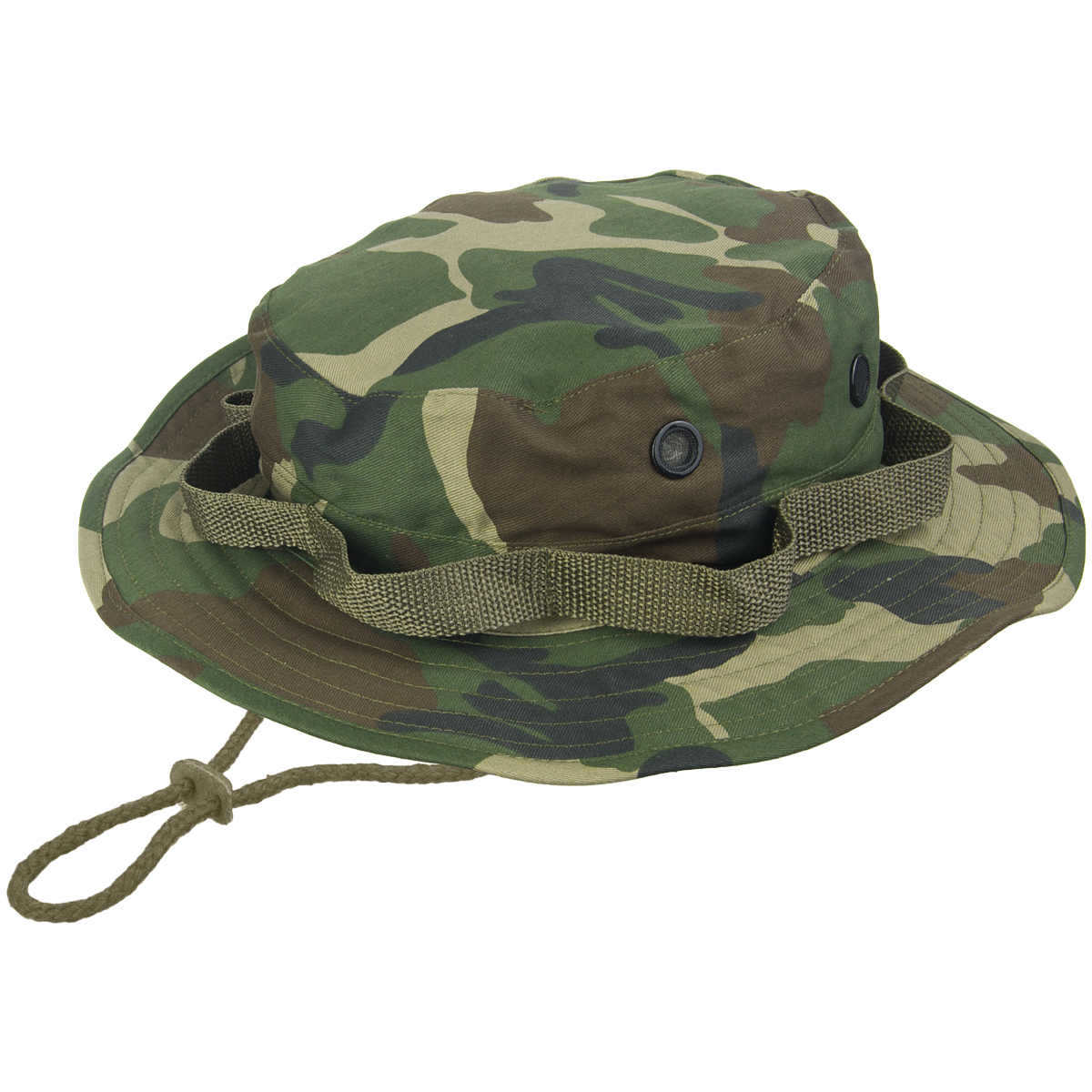 Sentinel Army Tactical Jungle Boonie Bush Hat Bushcraft Hiking Travel  Woodland Camo S-XXL 84bf5b57282