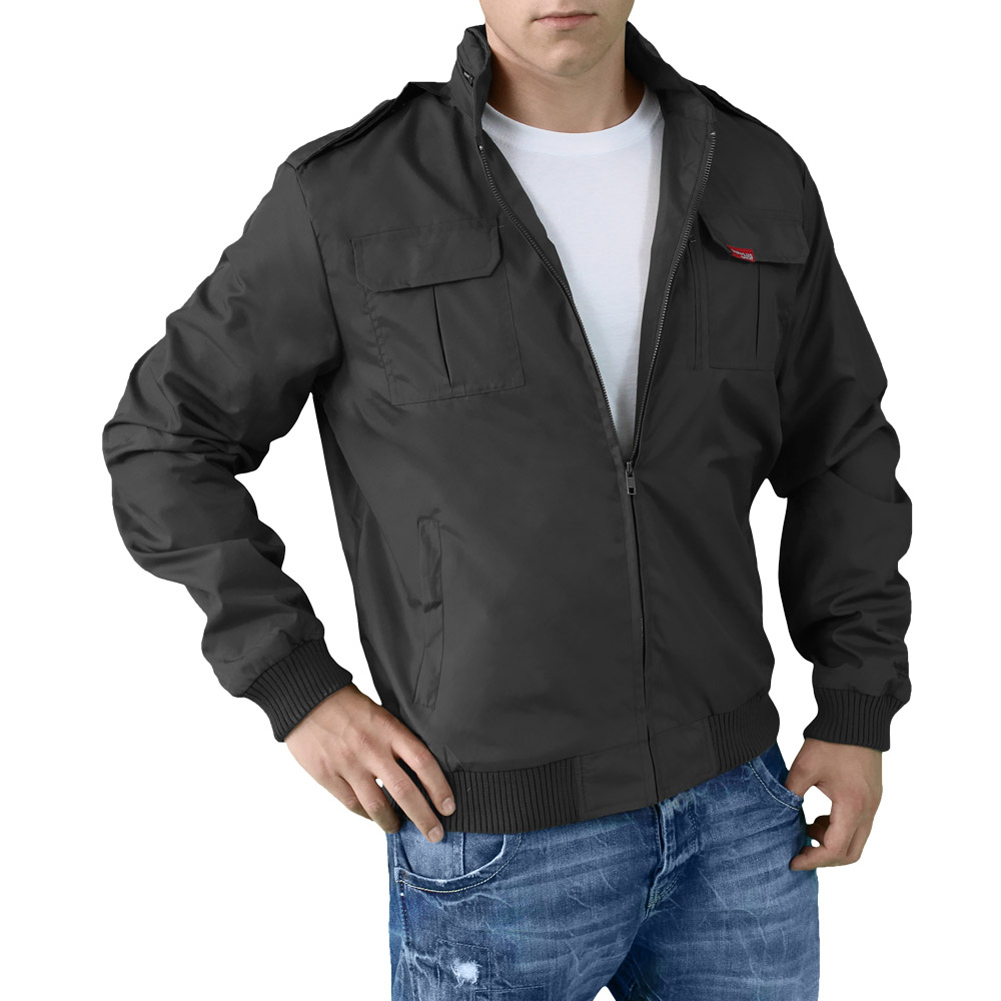 SURPLUS MILITARY STYLE SUMMER 75 MENS SHORT JACKET HOODED ...
