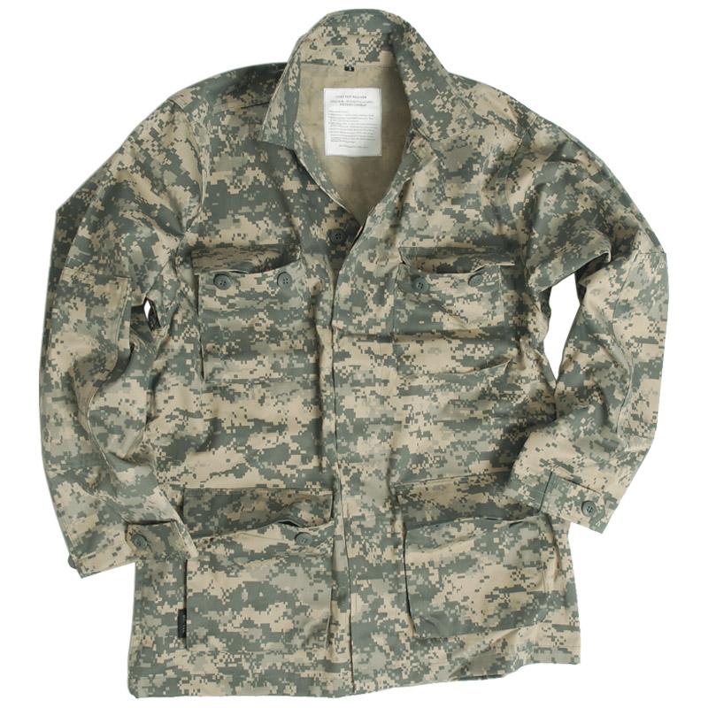 Estados-Unidos-Patrulla-Militar-Bdu-Camisa-Hombres-Chaqueta-De-Combate-Airsoft-U