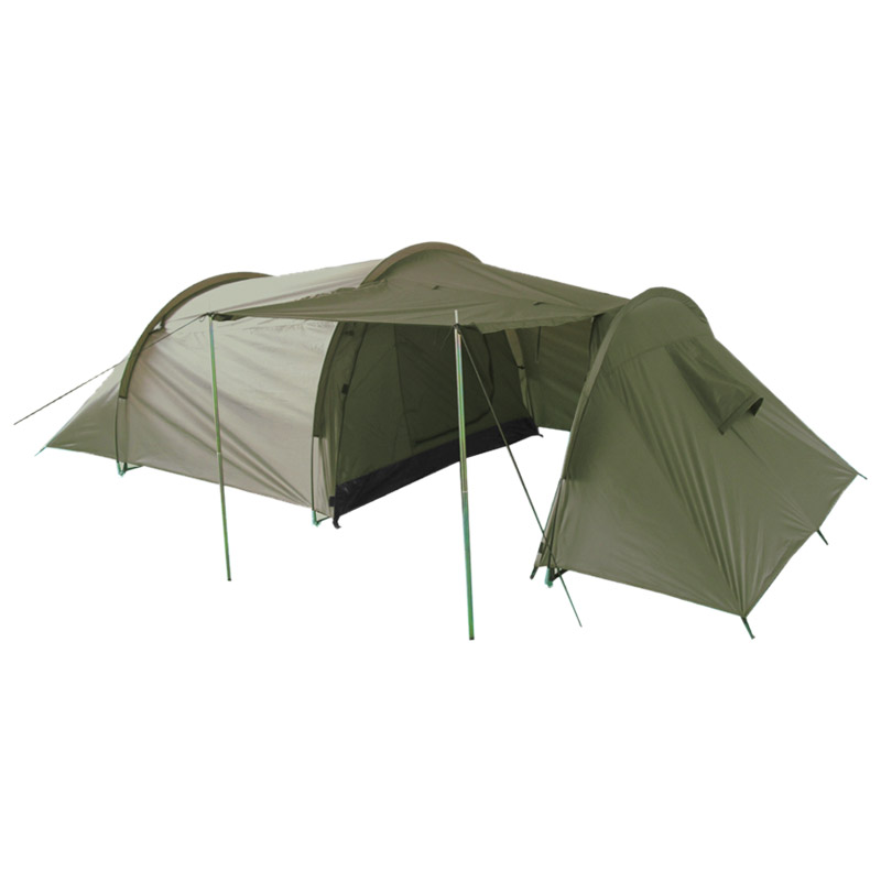 Sentinel C&ing Hiking Bushcraft Travel Festival 3 Person Tent Shelter + Porch Olive OD  sc 1 st  eBay : tunnel tent porch - memphite.com