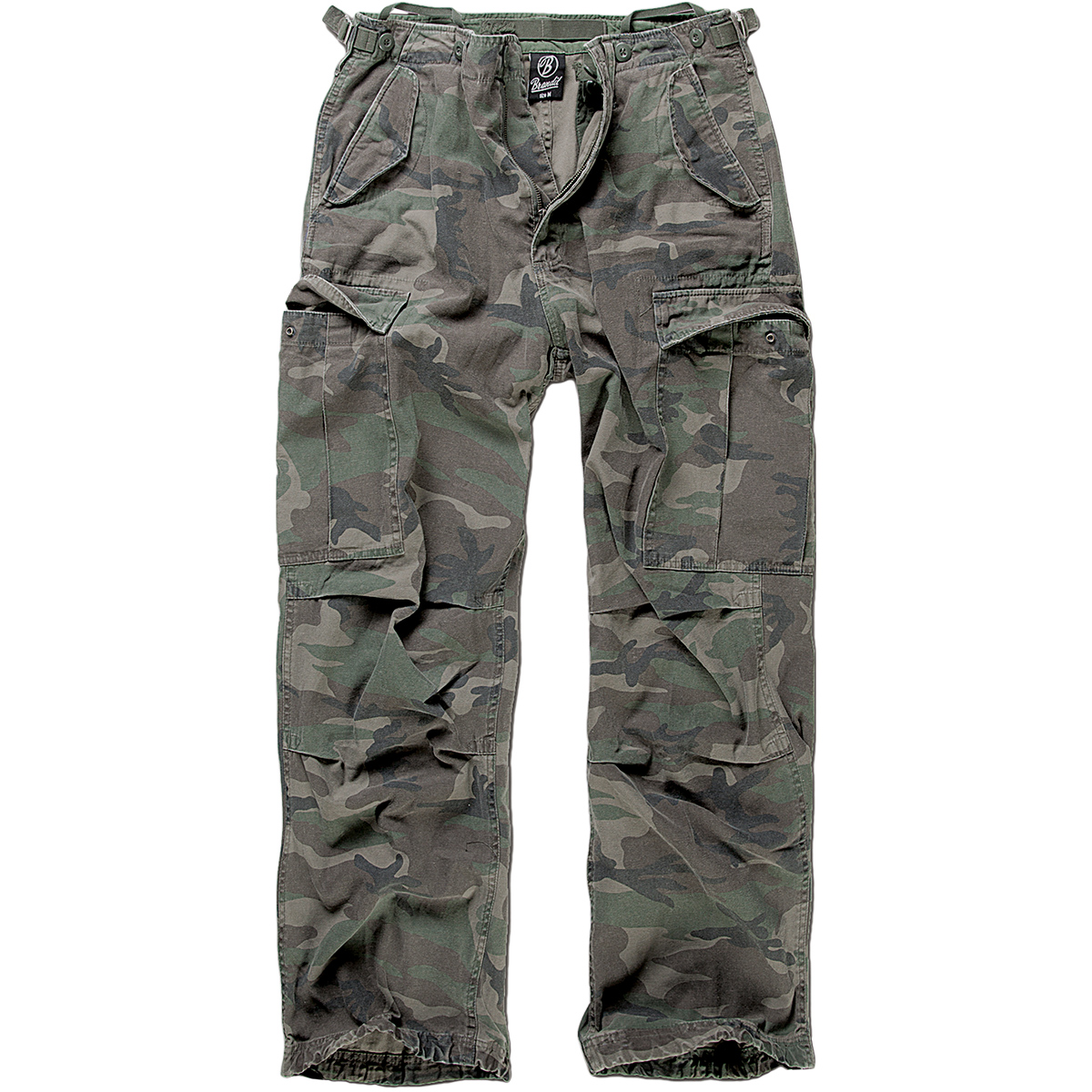Brand New US M65 Style Army Cargo Vintage Combat Trousers Pants
