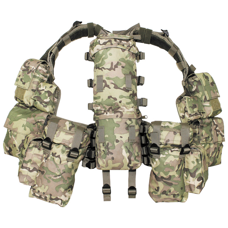 mfh tactical  MFH Army Combat Tactical Patrol South African Assault Vest Set ...