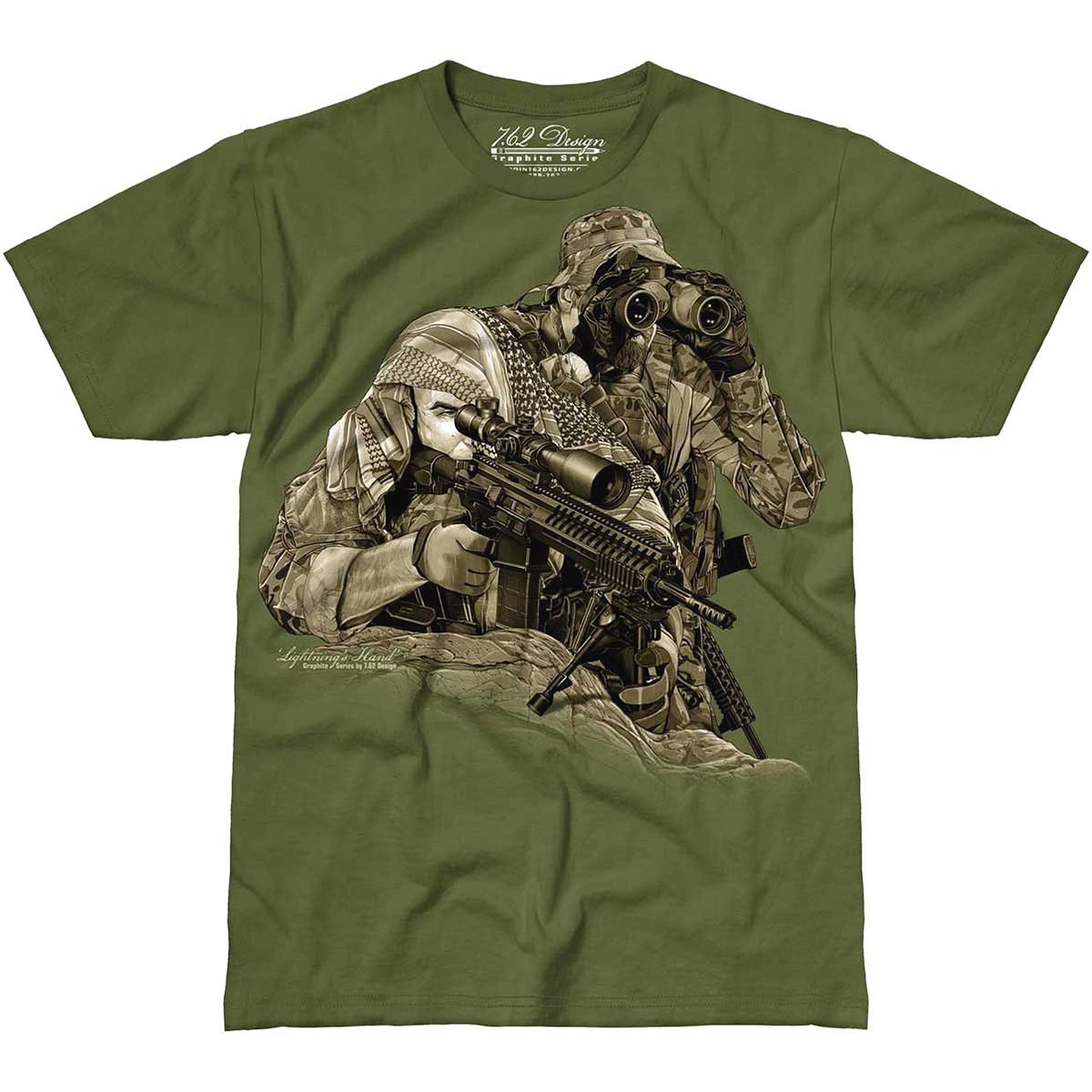 Sniper No Need to Run T Shirt Green Funny Army Fancy Dress Airsoft Paintball